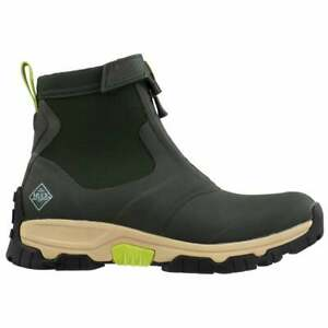 Muck Boot Apex Mid Zip  Mens  Boots   Ankle  - Green