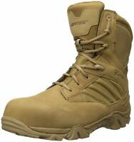 Bates Men's Gx-8 Waterproof Composite Toe Side Zip Military, Coyote, Size 11.5 d