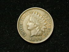 SUMMER SALE!!  XF 1899 INDIAN HEAD CENT PENNY w/ DIAMONDS & FULL LIBERTY #61s