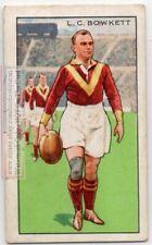 L. C. Bowkett English Rugby Union Professional Footballer l 1930s Trade  Ad Card