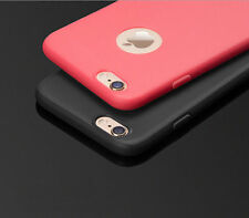 Ultra Thin Slim Rubber Soft TPU Back Case Cover For Apple iPhone 5 5s 6 6s Plus