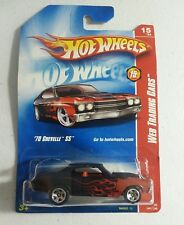 2008 Hot Wheels #091 Web Trading Cars 15/24 '70 Chevelle SS  M6993 1L NEW