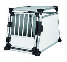 Trixie Transportbox, Aluminium, 39342, 63 x 65 x 90 cm, Autobox sehr stabil