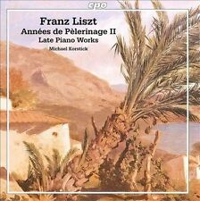 Annees De Pelerinage II / Late Piano Works, New Music