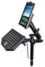 Supporto ram-mount rigido braccio ruotante a 360° per auto per iPad e tastiera