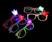 8 Pcs LED Glasses Light Up Hello Kitty Flashing Rave Wedding Party for kid lady
