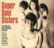 SUPER SOUL SISTERS - 3 CD BOX SET - GLADYS KNIGHT, PATTI LABELLE & MANY MORE