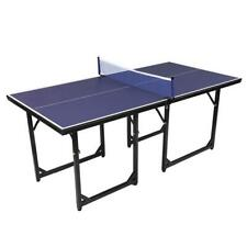 Portable New Foldable 6'x3' Ping Pong Table Tennis Game Indoor-Outdoor Play Team