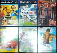 STOCK 2 GIOCHI PS2  E PC
