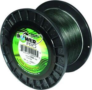 Power Pro 21101000500E Spectra Braided Fishing Line 100  lb. 500 Yards Moss