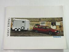 1989 Volvo Towing Accessories Sales Brochure