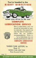 Advertising Ford Auto Repair Tuxedo Park New York Postcard undivided 20-5357