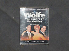 TOM WOLFE THE BONFIRE OF THE VANITIES  AUDIOBOOK   READ BY  JOHN LITHGOW    VGC