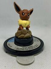 Pokemon Trading Figure Game Eevee Figure 8/42 Black Base