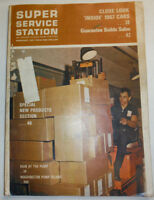 Super Service Station Magazine Man At The Pump Again February 1967 020615R