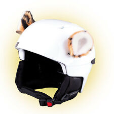 Stick-on ears for skiing helmet - Tiger - ski bike Decoration Cover Cool Ear Kid