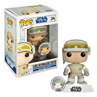 Funko POP! Star Wars Luke Skywalker (Hoth) with PIN #34 SPECIAL EDITION