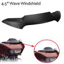 """4.5"""" Sport Flare Wave Windshield For Harley Moto Road Glide Ultra Special 15-17"""