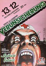 ERSTE ALLGEMEINE VERUNSICHERUNG   1983    orig.Concert Poster    84 x 60 cm  RAR