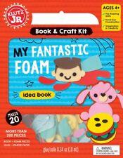 MY FANTASTIC FOAM - MAKES 20 W/ 200+ PIECES KIDS KLUTZ ACTIVITY BOOK & CRAFT KIT