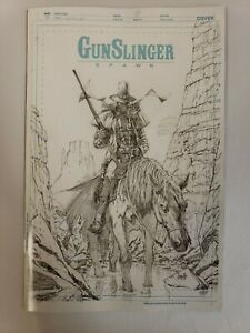 Gunslinger Spawn #1 2021 IMAGE Comics 1:50 Greg Capullo Sketch Variant Cover NM
