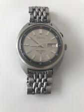 SEIKO Bell-matic 17 joya de acero inoxidable para hombres De colección Reloj primeros años 70