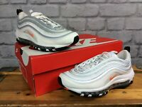 NIKE AIR MAX UK 5 EU 38 CONE WHITE 97 BULLET TRAINERS CHILDRENS GIRLS LADIES