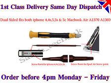 iPhone 4 4S 5 / Macbook Air 5 Point Star Dual Pentalobe Pentalobular Screwdriver
