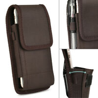 Vertical Case Pouch Holster Cover Belt Clip For iPhone 11 Samsung Note 10+ LG