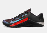 Nike Metcon 6 Mat Fraser Black Red Blue CW6882-006 New Men's Shoes Training Rare