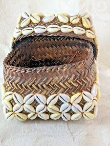 Medium Size Bamboo Shell Box