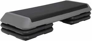 The Original Health Club Step, Gray / Black,