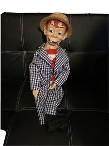 mortimer snerd ventriloquist doll