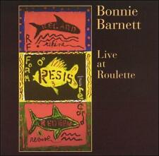 BONNIE BARNETT - LIVE AT ROULETTE - 6 TRACK MUSIC CD - BRAND NEW - G556