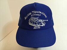*Vintage Allison Transmission Assembly X1100 Mesh Trucker Cap Hat-USA. ba10493