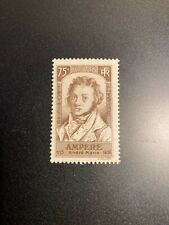 Timbre France, N°310, Ampere 75c brun, Neuf, Cote: 22€