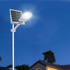 150W Led Solar Street Light Motion Sensor Dusk-to-Dawn+Remote Outdoor Lighting