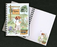 Beagle Hound Dog Notebook/Notepad + small image on every page by Starprint