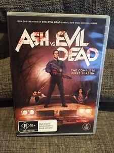 Ash Vs Evil Dead The Complete First Season Dvd