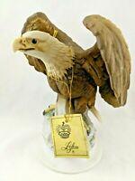 Vintage Lefton China Porcelain American Eagle Figurine KW7212 Japan with Hangtag