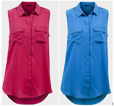 New Look Patternless Semi Fitted Blouses for Women