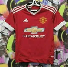 Manchester United Football Shirt Soccer Jersey Adidas 2015 Youth size L 13-14 Y