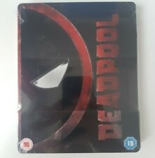 Deadpool Blu-Ray Steelbook Limited Edition Rare New & Sealed Marvel