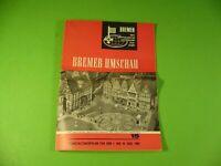 Altes Veranstaltungsprogramm der Hansestadt Bremen vom 1. bis 15. August 1965