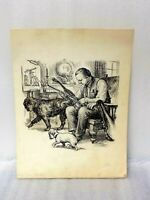 Magnificent Rare Ungo and Noodle Ink Illustration - A tribute to Dorothy M Bryan