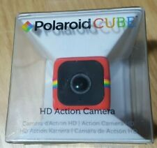 Polaroid CUBE HD Action Camera - Red, in box, unused, instructions