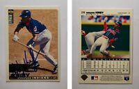 Wayne Kirby Signed 1995 Collector's Choice #276 Card Cleveland Indians Autograph