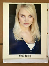 Stacy Fuson #1 Playboy Playmate original vintage headshot photo with credits