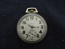 Antique 1902 Hamilton 992 21 Jewels Railroad Pocket Watch