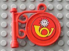 Lego Fabuland x653 Frying Pan Casserole Red Rouge du 3784 3795 3701 /& 3672
